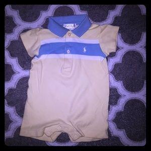Ralph Lauren 3 months infant baby boy romper